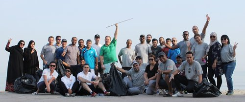 InterContinental Muscat conducts beach cleaning initiative