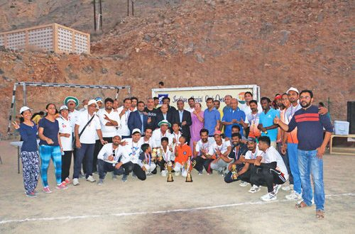 ISC Kachchhi Wing organises family cricket tournament