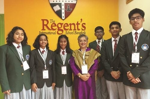 ISG students attend Round Square Conference in Bangkok