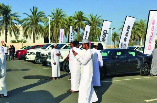 Large number of customers attend Dhofar Automotive's road shows in Sohar, Salalah