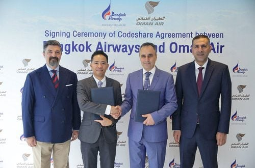 Oman Air, Bangkok Airways announce codeshare agreement