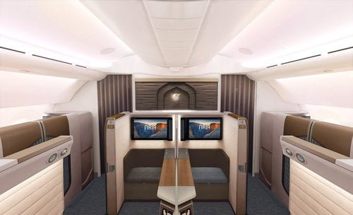 Oman Air unveils First Class suite at Arabian Travel Market