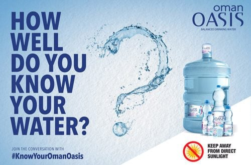 Oman Oasis launches drinking water campaign