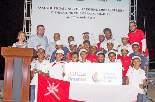 Omantel youth sailors praised for performance at ASAF event in UAE