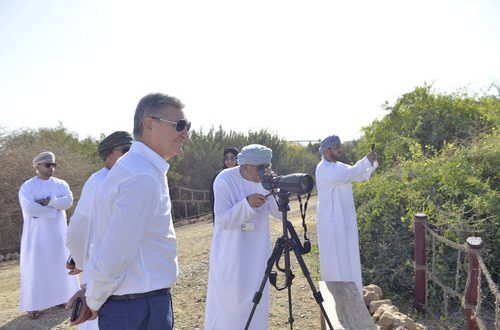 Omran top management visits Al Ansab Wetlands