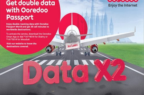 Ooredoo offers double data using Passport World till April 19