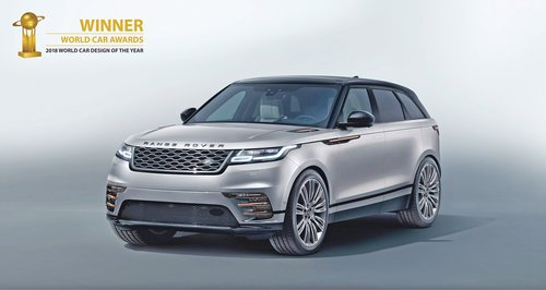Range Rover Velar 'most beautiful car in the world'