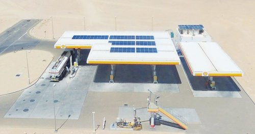 Shell opens first solar-powered service station in Al Wusta