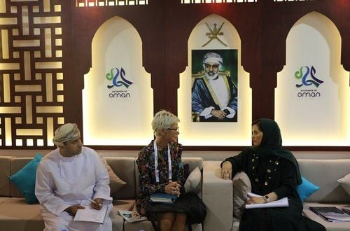 The Ministry of Tourism participants in ATM 2018