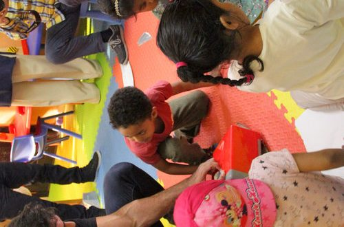 TSC brings smiles on faces of children at Dar al Hanan
