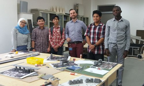 Creating new city districts – Students from the British School Muscat experience life at GUtech