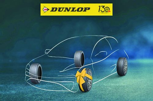 Dunlop Tyres announce 'Buy 3, Get 1 Free' promotion