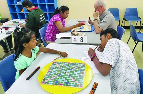 Exciting Scrabble competition organised in Muscat