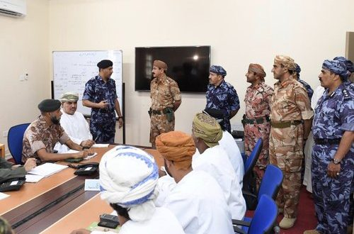 H E Gen Nu'amani visits Dhofar to review rehabilitation work