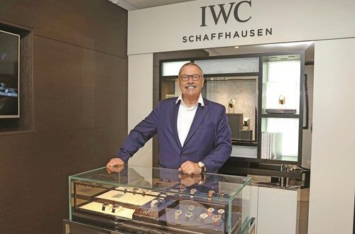Hannes Pantli of IWC Schaffhausen visits Oman to celebrate brand's 150th year anniversary