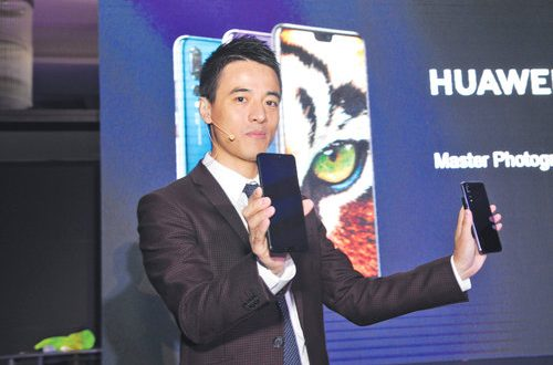 Huawei P20 Pro launched in Oman