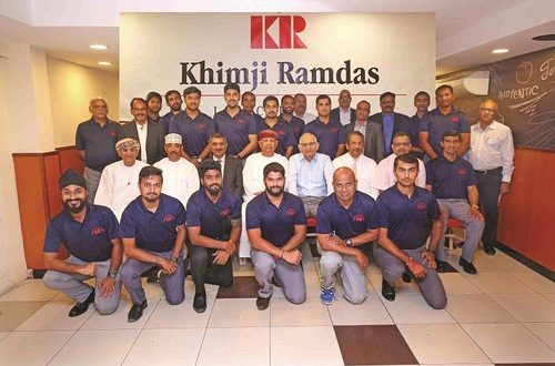 KR Group felicitates Muscat CT for excellent performance
