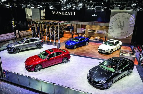 Maserati showcases GranLusso, GranSport range at Auto China