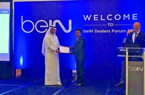 Mustafa Sultan Electronics wins highest new sale award from beIN