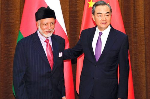 Oman, China to mark 40th anniversary of diplomatic relations