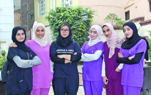 Oman Dental College extends support to charitable dental health camp in Nepal