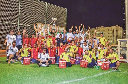 Oman Electricity Transmission Company concludes 11th internal football championship