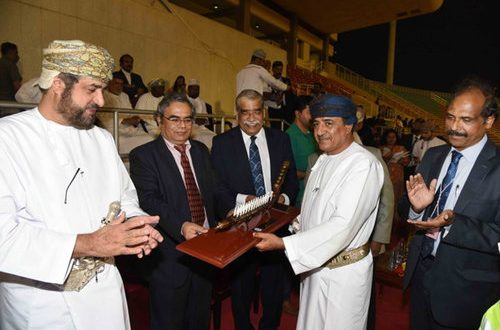 Oman-India Sports Meet 2018 inaugurated with enthusiasm