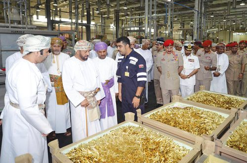 Oman Munition Production Company opens factory in Samail