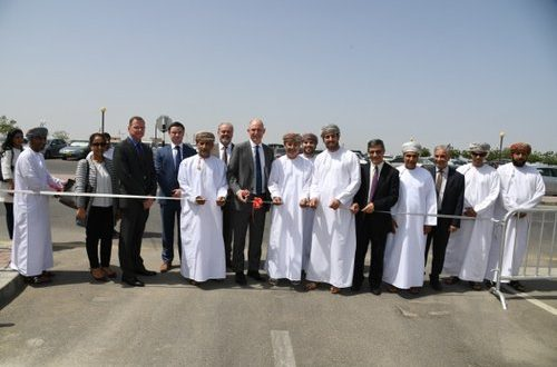Solar parking shades open at SQU