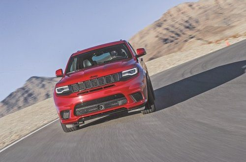 2018 Jeep Grand Cherokee Trackhawk is most powerful SUV