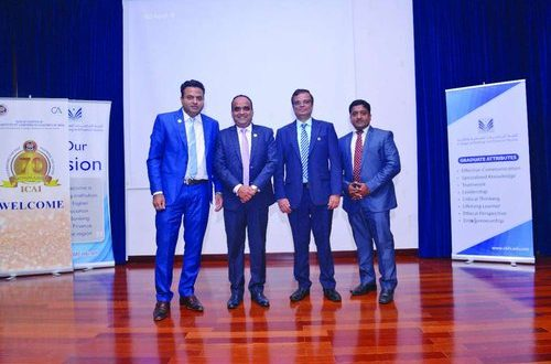 Anti-fraud expert addresses ICAI Muscat Chapter