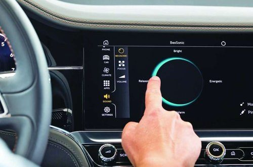 Bang & Olufsen BeoSonic interface in new Bentley Continental GT