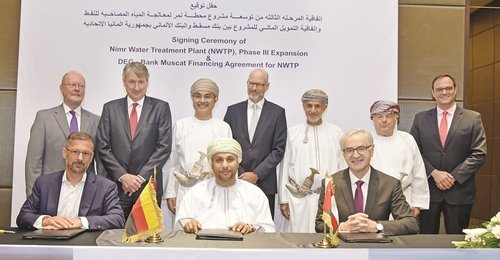 Bank Muscat signs finance agreement with Bauer Nimr
