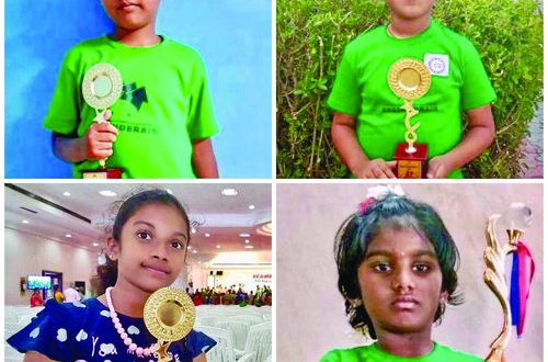 Children from sultanate dazzle at India's Regional Abacus Competitions