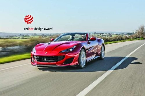 Ferrari wins 'Red Dot: Best of the Best' design award for fourth year