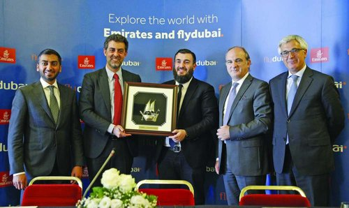 Flydubai marks its first direct flight between Dubai and Sicily