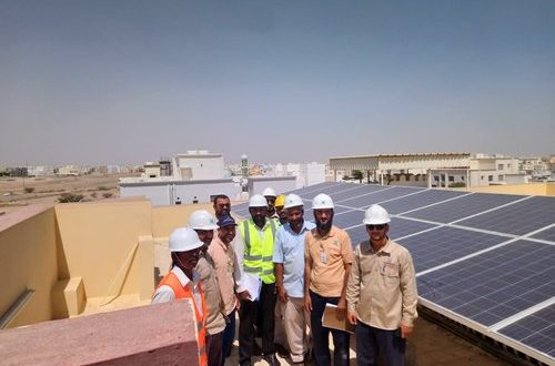 Grid connection for Oman's residential solar rooftop projects begins