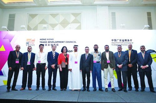 Hong Kong Trade Development Council honours Saba Muscat