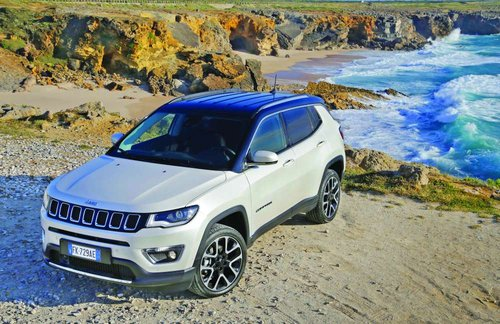 Jeep Compass: Unmatched SUV capabilities, 5-star safety equipment