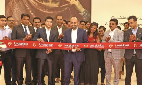 Joyalukkas Jewellery inaugurates new showroom