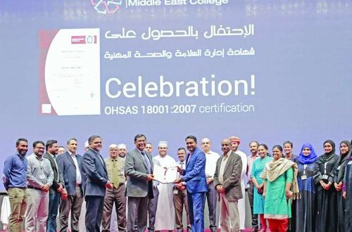 MEC achieves OHSAS Certification in BS 18001:2007