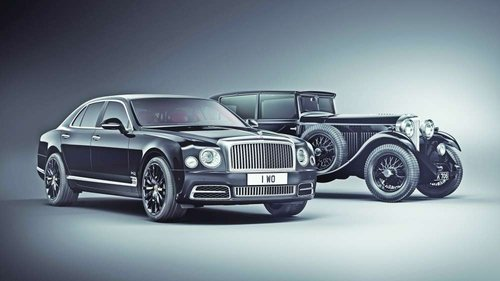 Mulsanne WO edition by Mulliner is unique car to mark extraordinary milestone