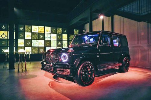 New Mercedes-Benz G-Class announces its arrival to Middle East in style