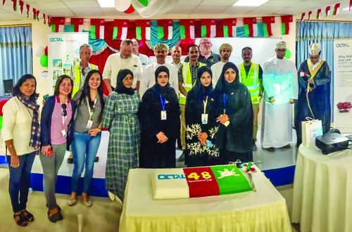 Octal team captures spirit of Oman with 48th Renaissance Day photo competition