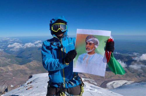 Omani mountaineer scales Europe's highest peak to mark Renaissance Day