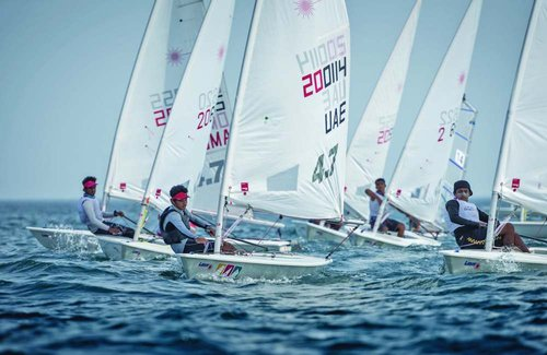 Omantel youth team to go for gold at Laser 4.7 Youth World Championships in Poland