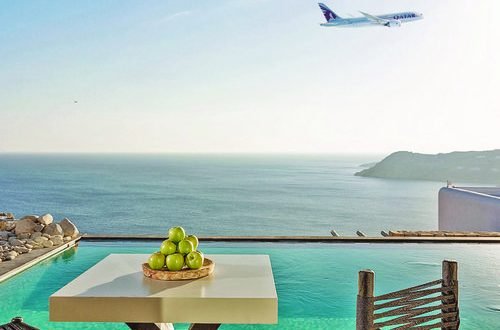 Qatar Airways, Myconian Collection Hotels & Resorts social media contest till Aug 2