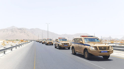 Royal Oman Police boosts security measures for Salalah Tourism Festival visitors