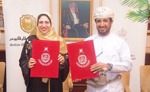 SQU and Diwan of Royal Court sign agreement to promote date palm sector