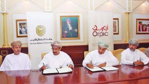 SQU and Orpic sign LoA for funding engineering design lab